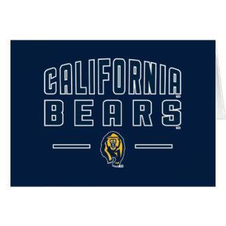 California Bears | Cal Berkeley 5 Card