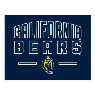 California Bears | Cal Berkeley 5 Postcard
