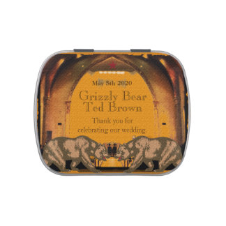 Gay Wedding Favors Candy Tins Jelly Belly Tins Zazzle