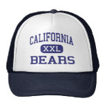 California Bears Middle Sacramento Mesh Hat