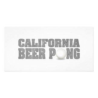California Beer Pong Card