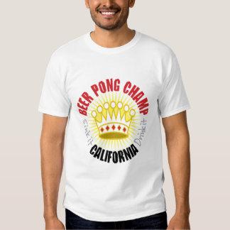 California Beer Pong Champ T-Shirt