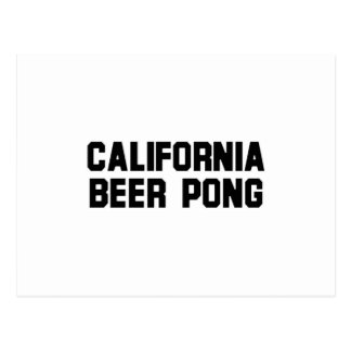 California Beer Pong Postcard