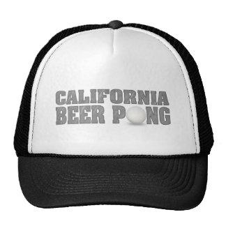 California Beer Pong Trucker Hat