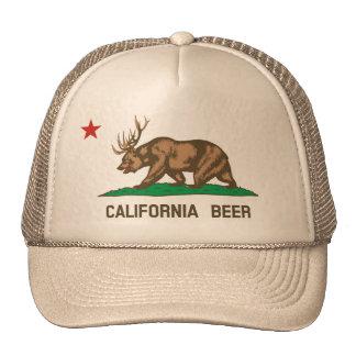 California Beer State Flag Trucker Hat