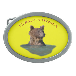 California Belt Buckle
