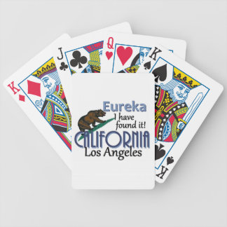 CALIFORNIA BICYCLE PLAYING CARDS