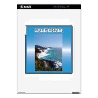 California Big Sur Ocean View Decal For iPad 2