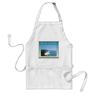 California Big Sur Ocean View II Adult Apron