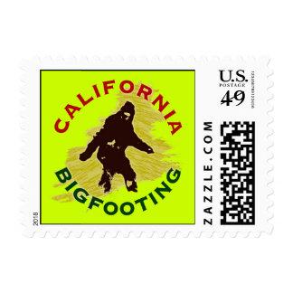 California Bigfooting Postage Stamp