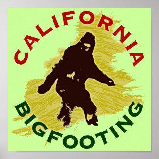California Bigfooting Poster