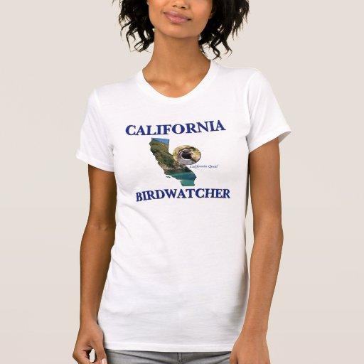 California Birdwatcher Camiseta