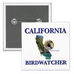 California Birdwatcher Pins