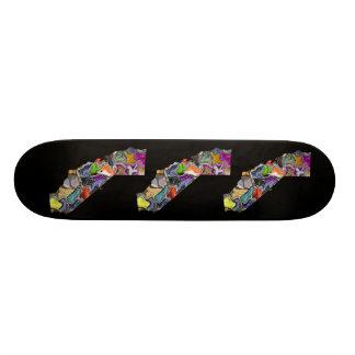 California Black Skateboard