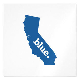 CALIFORNIA BLUE STATE MAGNETIC CARD