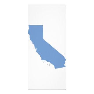 California: Blue State! Rack Card
