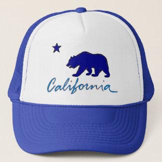California blue theme local artistic writing hat