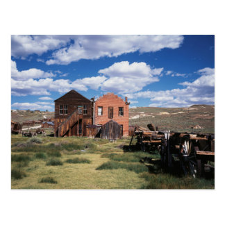 California, Bodie State Historic Park, An old Postcard