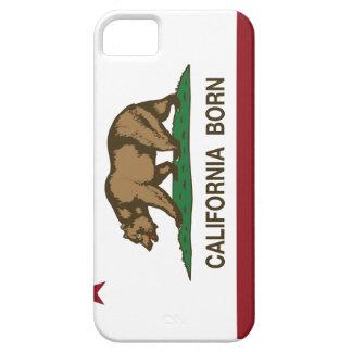 California Born Bear Flag iPhone SE/5/5s Case