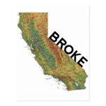 California - Broke Post Cards