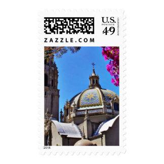 California Building In Balboa Park Stamps