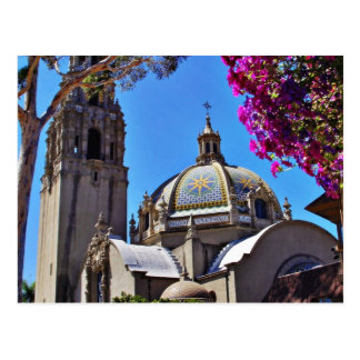 California Building In Balboa Park Postcard