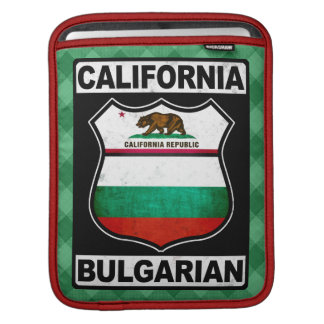 California Bulgarian American iPad Case