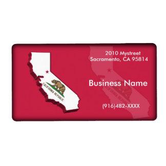 California Business Label