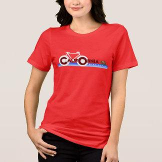 California CA biking state flag T-Shirt