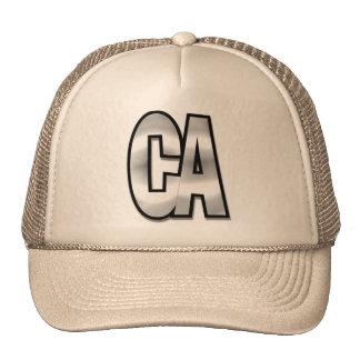 California CA chromehead Trucker Hat