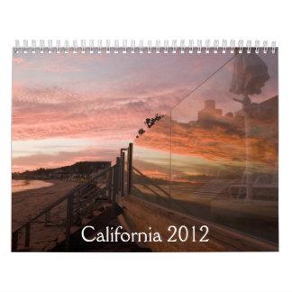 California calendar 2012