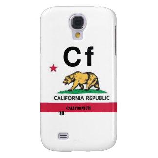 California Californium Samsung Galaxy S4 Cover