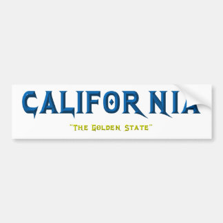 CALIFORNIA CAR BUMPER STICKER
