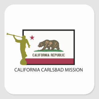 CALIFORNIA CARLSBAD MISSION LDS CTR STICKERS