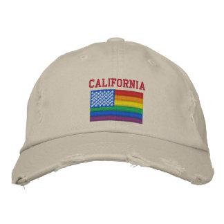 California celebra la gorra de béisbol de la igual