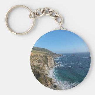 California Central Coastline Key Chain