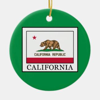 California Ceramic Ornament