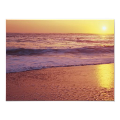 California, cerca de Santa Cruz, vista de la playa Fotografías