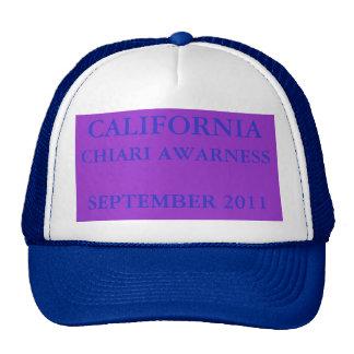 CALIFORNIA, CHIARI AWARNESS, WALK, SEPTEMBER 2011 TRUCKER HAT