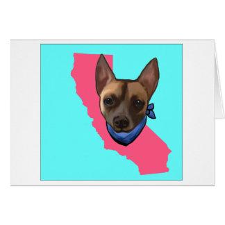 CALIFORNIA CHIHUAHUA CARD