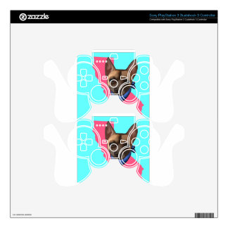 CALIFORNIA CHIHUAHUA DECAL FOR PS3 CONTROLLER