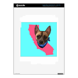 CALIFORNIA CHIHUAHUA iPad 3 SKIN