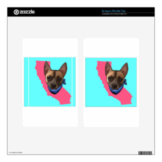 CALIFORNIA CHIHUAHUA KINDLE FIRE SKIN