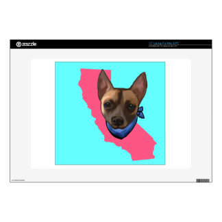 CALIFORNIA CHIHUAHUA LAPTOP DECAL