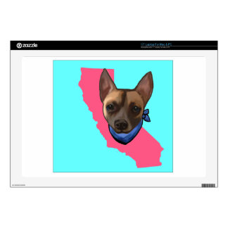 CALIFORNIA CHIHUAHUA LAPTOP DECALS