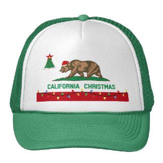 California Christmas Hat green