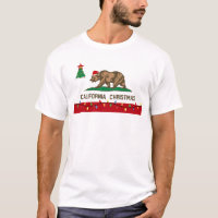 California Christmas T-shirt