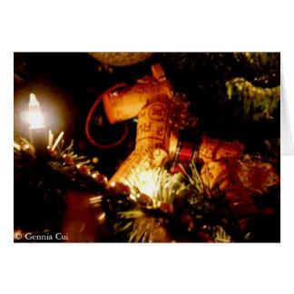 California Christmas With Saying Card