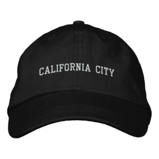 California City Embroidered Baseball Cap