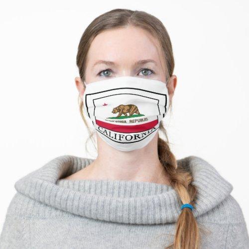 California Cloth Face Mask
